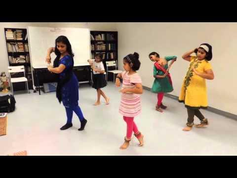 Saraswati Vandana dance conducted by Ms Dolly Goyal
