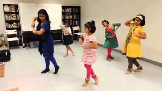 Saraswati Vandana dance conducted by Ms Dolly Goyal