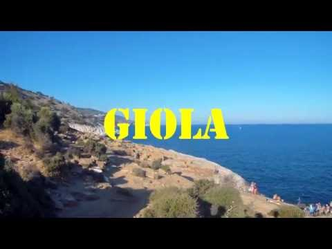 One day trip to Giola natural pool, Thassos, Greece - July, 2016