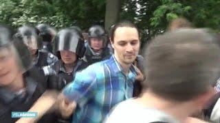 Honderden demonstranten gearresteerd in Moskou