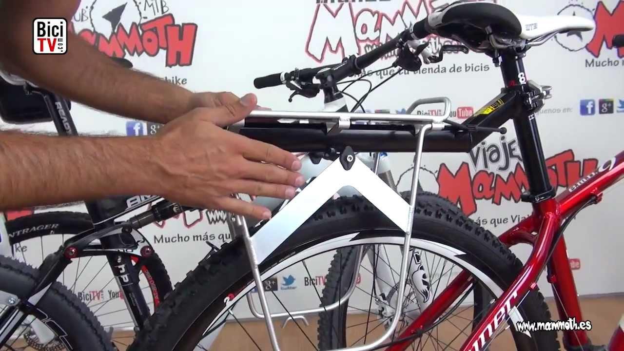 7a3a3169a65 Como llevar equipaje sobre la bicicleta. Los transportines. - YouTube
