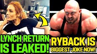 Becky Lynch Signed New WWE Contract Setback For Ryback John Cena s WWE Return AEW News WWE News