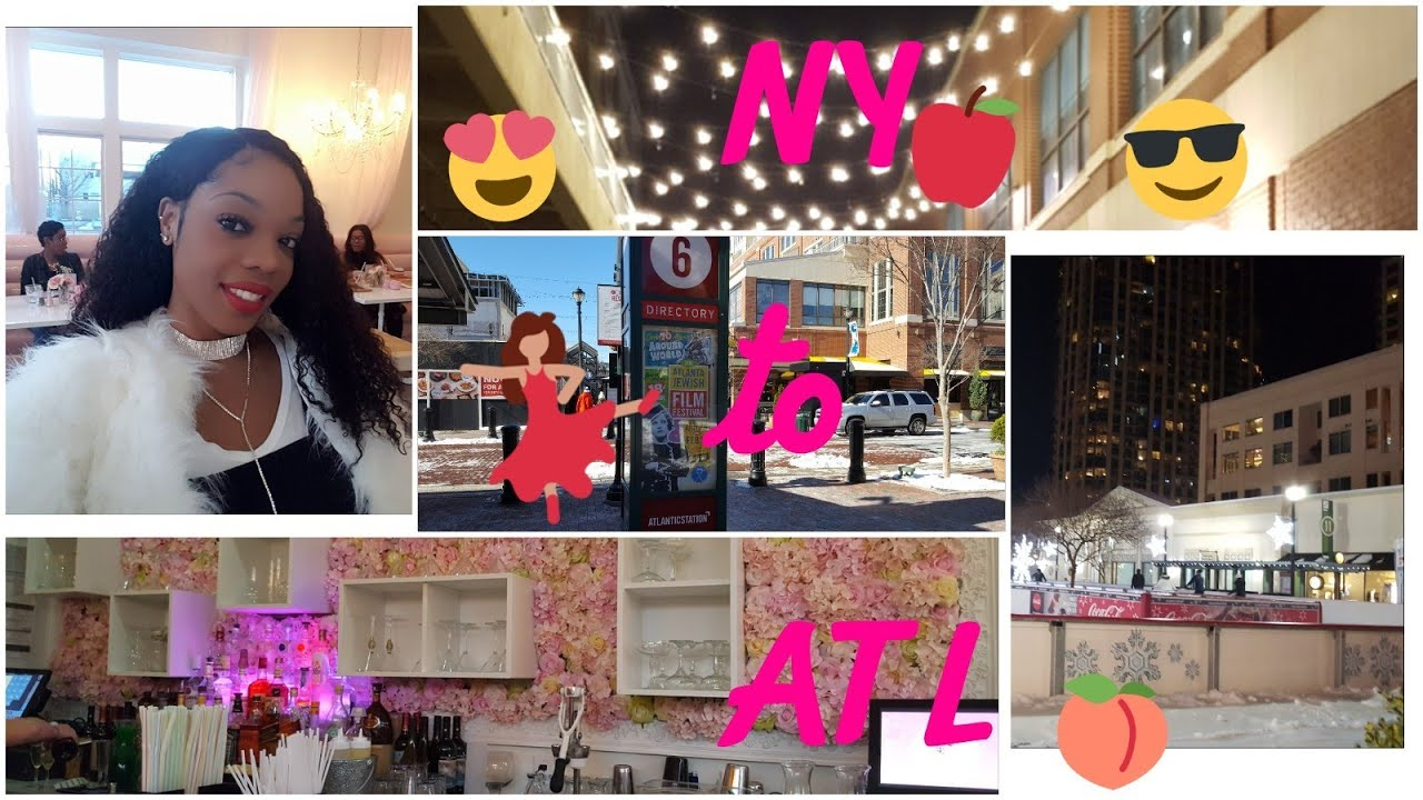 ms tina 39 s life vlog 9 2018 ny to atl atlantic station fun k michelle 39 s puff petals lounge. Black Bedroom Furniture Sets. Home Design Ideas