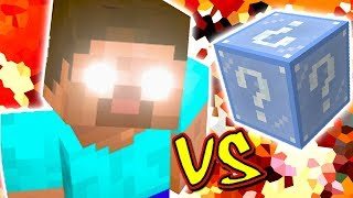 HEROBRINE VS. LUCKY BLOCK NATAL (MINECRAFT LUCKY BLOCK CHALLENGE)