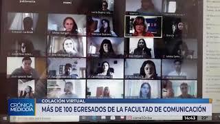 UNC: FACULTAD DE COMUNICACIÓN Y LOS PRIMEROS EGRESADOS VIRTUALES