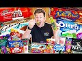 TRYING THE WEIRDEST CHRISTMAS FOODS FROM SUPERMARKETS