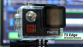 ThiEye T5 Edge 4K Action Camera Unboxing and Giveaway