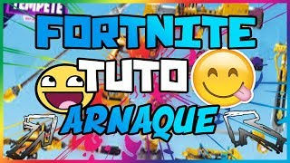 FORTNITE ALL THE TECHNIQUES OF ARNAQUES IN SAUVER THE WORLD