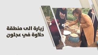 زيارة الى منطقة حلاوة في عجلون
