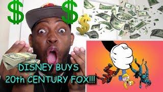 OMFG!!! DISNEY BUYS 20th CENTURY FOX FOR $52.4 BILLION DOLLARS!!!