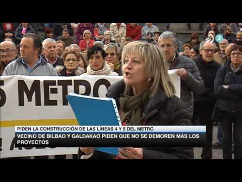Metro Bilbao Linea 4  Teleberri 2017 04 13