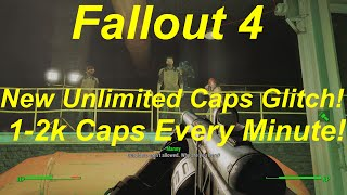 Fallout 4 New Unlimited Caps Glitch Infinite Caps Exploit 1 2k Every Minute Fallout 4 Glitches