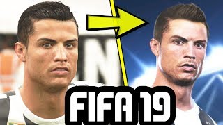 FIFA 19 NEW CRISTIANO RONALDO FACE UPDATE