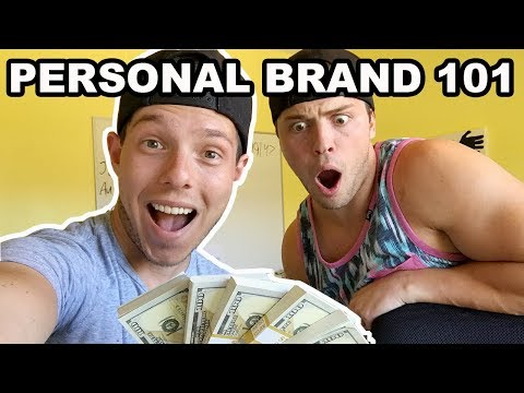 Personal Branding 101: How to create a Million-Dollar personal brand - about ANYTHING