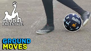 HOW TO DO STREET SOCCER GROUND MOVES!!