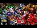 Marvel vs DC | 30 MAN ROYAL RUMBLE WWE 2K17