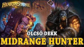 Olcsó dekk: Midrange Hunter - Hearthstone