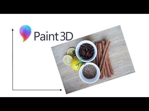 Paint 3D. Урок 4 - Как изменить размер изображения