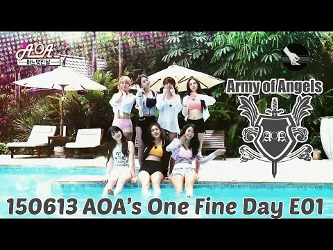 [ArmyOfAngels] 150613 MBC Music AOA's One Fine Day EP01 (Eng. Sub)