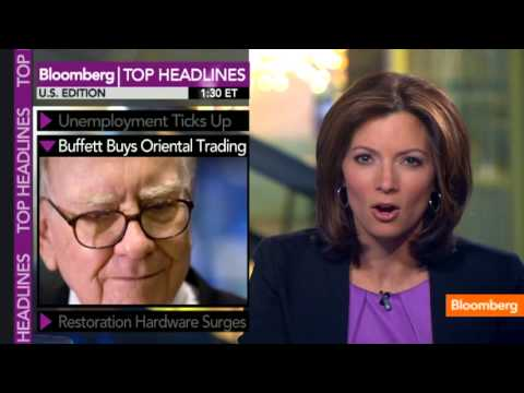 Unemployment Up, Buffett Buys Oriental Trading