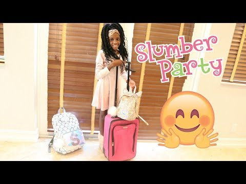 YAYA HAS HER FIRST SLEEP OVER AT HER FRIENDS HOUSE- LIT WEEKEND VLOG
