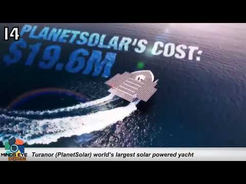 WORLD's LARGEST SOLAR-POWERED YACHT | Crazy Boats #14 | Avalon Luxury Pontoons