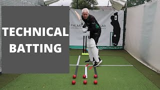 How To Bat In Cricket With Perfect Technique | Gary Palmer Cricket Coaching Masterclass