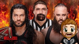 WWE HELL IN A CELL (2018) LIVE STREAM LIVE REACTIONS WATCH PARTY