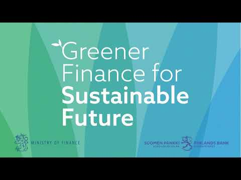 Greener Finance for Sustainable Future 30. - 31.10.2019
