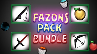 Fazons 250k Pack Bundle! Minecraft Resource Pack Review #25
