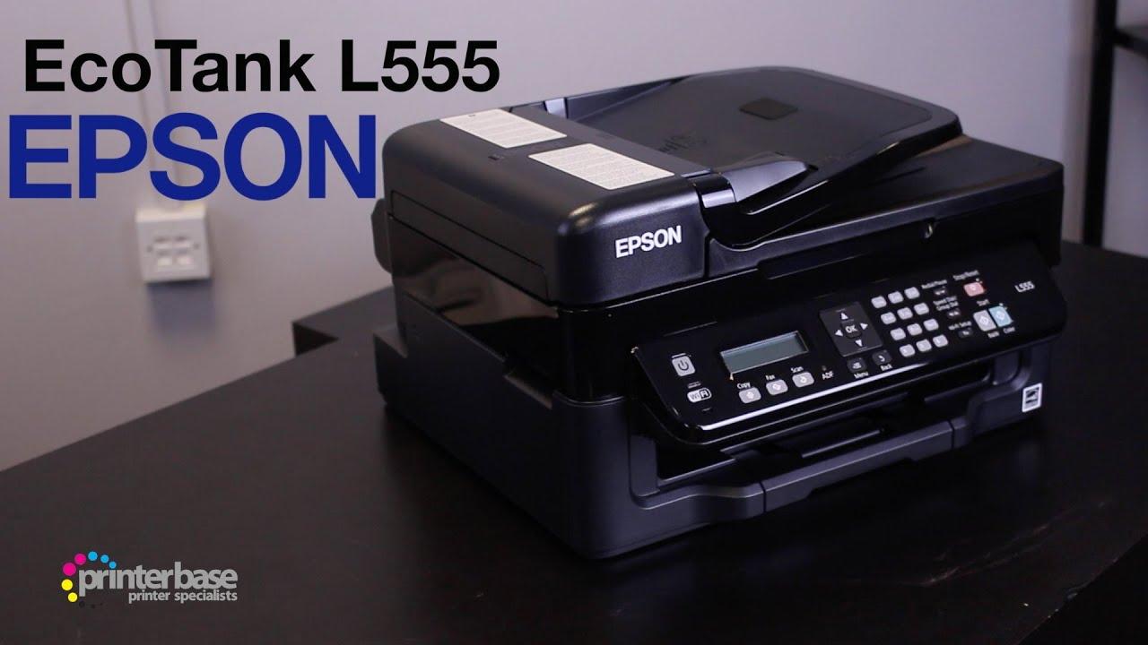 Epson Ecotank L555 All In One Inkjet Printer Review