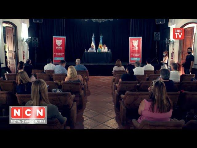 CINCO TV - Zamora y Oporto lanzaron un programa para formación de estudiantes y trabajadores
