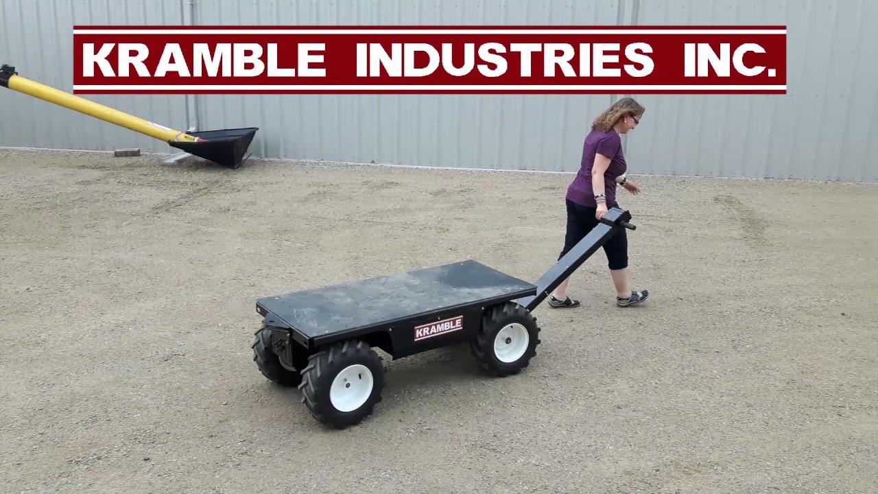 motorized utility cart speed 3 youtube