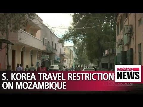 S. Korea bans travel to Mozambique's northeastern province of Cabo Delgado