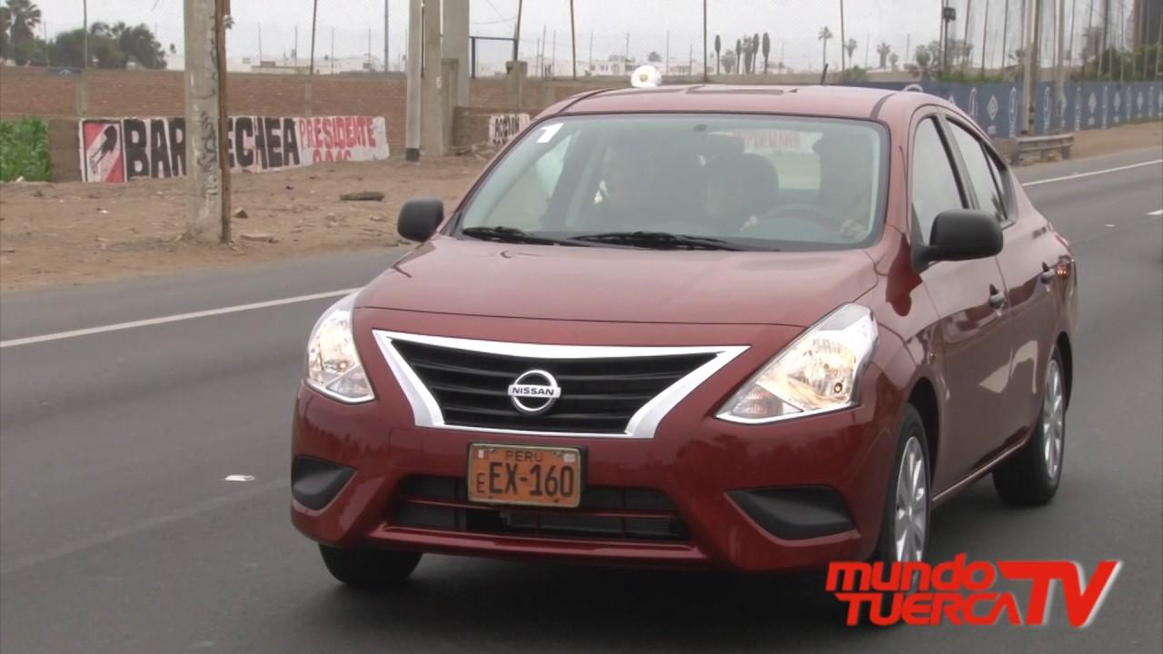 Nuevo Nissan Versa Drive 2017 - YouTube