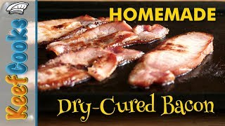 Homemade Dry-Cured Back Bacon