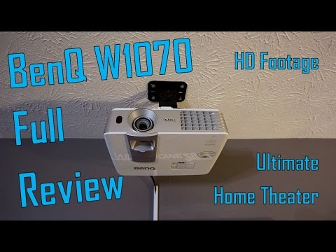"Benq W1070 Full Review ""After 1 Year"" Ultimate Home Theater"