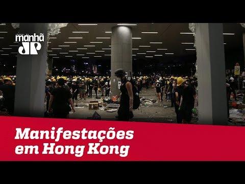 Manifestantes voltam às ruas de Hong Kong em atos contra o governo
