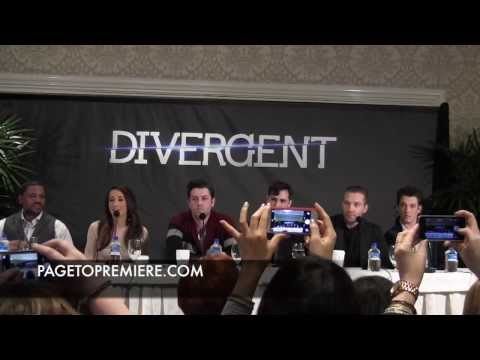 Maggie Q, Miles Teller, Jai Courtney, Ben LloydHughes, and more  'Divergent' Press Conference