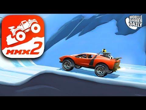 MMX HILL DASH 2 - SUPERCAR Gameplay (iOS Android)