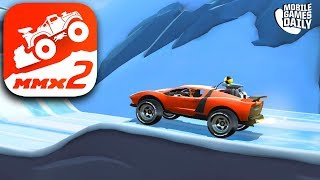 MMX HILL DASH 2 - SUPERCAR Gameplay (iOS Android)
