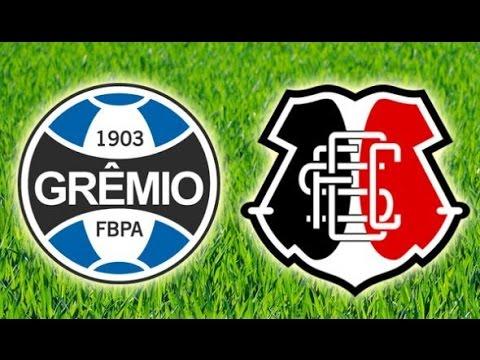 Melhores momentos - Grêmio 0 x 0 Santa Cruz - 18ª rodada do Brasileirão 04/08/2016