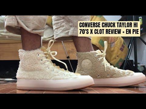 CONVERSE CHUCK TAYLOR 70'S HI X CLOT