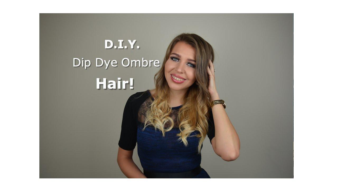 ombr dip dye hair