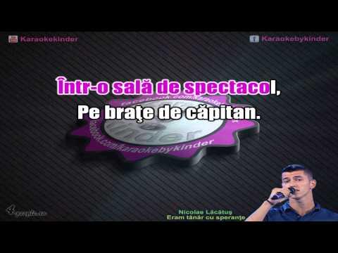 Nicolae Lăcătuş - Eram tânăr cu speranţe (Karaoke by kinder)