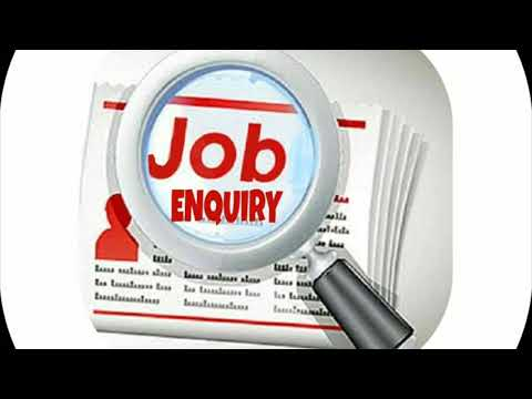 JOB ENQUIRY
