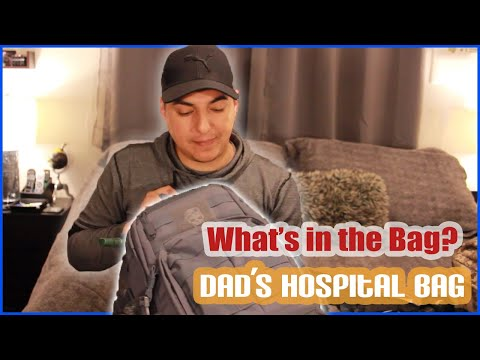 Hospital Bag Listing for Expectant Fathers
