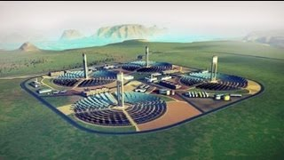 SimCity 5 - Solar Farm - Great Works tutorial & tips - Sim City 2013