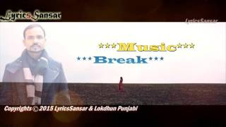 TERE BINA   Without You   Teaser   Angrej Ali   Pav Dharia   New Punjabi Song 2015   With Lyrics