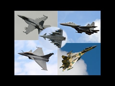 The Top 5 4++ Gen Twin Engine Fighters! (Multirole, Air Dominance)